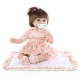 18inch Reborn Baby Girl Doll Handmade Lifeike Baby Girl Dolls Play House Toys