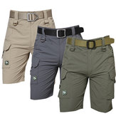 Mens Outdoors Military Training Quick Drying TAD Tactical Shorts Multi Pocket Breathable Sports Shorts Pants