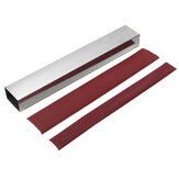 10 Inch Guitar Bass Fret Leveling File Aluminum Beam Luthier Tool with Sanding Paper