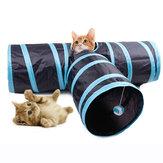 Yani MC-PW1 3 Way Cat Playing Tunnel Creative Pet Cat Floding Jouets de décompression