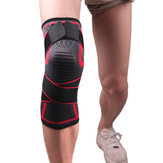 KALOAD 1 PC Knitting Pad Aptitud Ejercicio Correr Ciclismo Elastic Knee Support Sports Knee Protective Gear