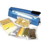 Electric Manual Vacuum Sealer Machine Food Tea Plastic Bag Heating Seal Ring Machine