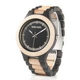 BOBOBIRDL*O01O02estilo casual de madera de bambú relojes creativos