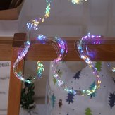 ARILUX® Solar Powered 8 Modes Colorful 200LED Waterfall Tree Vine Branch String Fairy Holiday Light