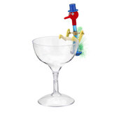 Novelty Dippy Drinking Bird With Plastic Glass