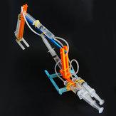 DIY Hydraulischer Bagger Roboter DIY Pädagogisches Spielzeug Roboter Montiert Spielzeug Geschenk Für Kinder