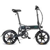 FIIDOD2Versionàvitessevariable 36V 7.8Ah 250W 16 pouces pliant cyclomoteur vélo 25 km / h Max 50 km kilométrage vélo électrique