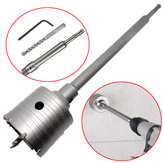 50mm SDS Plus Shank Hole Saw Cutter Concrete Cement Stone Wall Drill Bit with Wrench