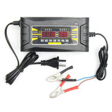 12V 6A Smart Fast Battery Charger For Car Motorcycle LCD Display