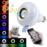 E27 LED RGB Bluetooth Ampoule Parleur sans Fil Musique 12W de Tension Lecteur Lampe Lumière