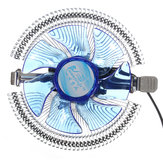 Quiet Blue LED CPU Cooler Cooling Fan Heat Sink for Intel LGA775 1155/1156 i3/i5/i7 AM2 AM3