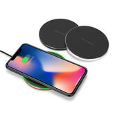Original Bakeey Aluminum QI Wireless Fast Charger Charging Dock Pad Mat Phone For iPhone XS XR X