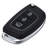 IX35 i20 3 Button Keyfobs Remote Key Shell Case with Battery 2032