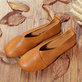 Large Size Vintage Casual Flat Loafers