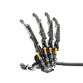 DIY 5DOF Robot Arm Five Fingers Metal Mechanical Paw Left and Right Hand