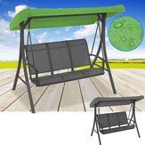191x120x23cm Canopy Waterproofed Swing Chair Tent Sunshade Camping Swing Roof Replacement  Fabric