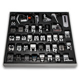 42 PCS Machine de couture domestique Foot Presser Feet Kit Accessoires de machine à coudre