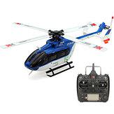 XK K124 6CH sin Escobillas EC145 3D6G Sistema para Helicóptero RC RTF