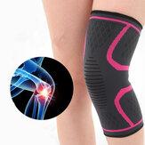 Women Mens High Elasticity Non-slip Knee Protector Pad Gym Sports Guard Kneepad