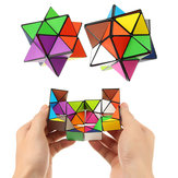 Plastic Colorful Cube Anxiety Stress Relief Fidget Focus Adults Kids Attention Therapy Toys