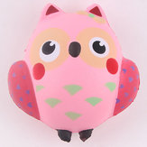 PU Simulation Cute Pink Owl Squishy Office Relief Toys