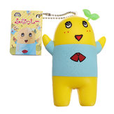 Cute Squeeze Stress Relief Toy Key Chain Squishy Hanging Pendant Decor Doll