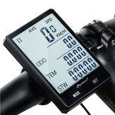 INBIKECX-9Ordinateurdevéloà écran large 2,8 pouces sans fil Rétro-éclairage vert Compteur de vitesse anti-pluie Chronomètre d'odomètre