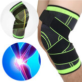 IPRee® 1Pcs 3D Weaving Knie Brace Breathable Sleeve Support voor Running Jogging Sports
