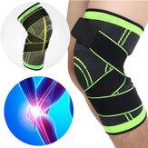 IPRee®1Pcs3Dtejiendolamuñeca respirable de la rodilla que apoya para el funcionamiento que activa deportes
