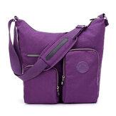Women Nylon Leisure Waterproof Shoulder Bag Crossbody Bag