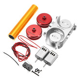 WORKER High Power Metal Flywheel Kit Set For Nerf Stryfe Accessory