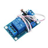 XH-M131 DC 12V Módulo de resistencia fotosensible Interruptor de control de luz Relé fotosensible Módulo de alimentación con cable de sonda Control automático Brillo con conexión de retroceso Función de protección