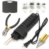 Stapler Bumper Plastic Fairing Welding Kit Torch For Car Auto Repair 220V