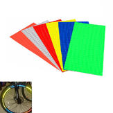 Bike Bicycle Wheel Rims Reflective Stickers Luminous