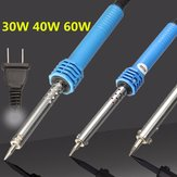 220V Electric Temperature Welding Soldering Iron Tool Plug Pencil 30W 40W 60W