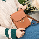 Women Vertical Shoulder Bag Small Square Bag
