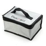 Realacc Sac Ignifuge pour Lipo Batterie(220x155x115mm)Avec Poignée
