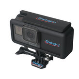 SheIngka FLW501 2300mAh External Battery with Camera Case Side Powerbank with Protective Case Frame for GoPro Hero 5 6 for Type-C Interface Smarphones