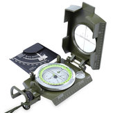 EYESKEY EK4076 Outdoor Multifunctional Compass Waterproof Geological Compass Camping Survival