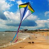 26 '' × 30 '' Diamond Delta Kite al aire libre Sports Toys For Kids Single Line Blue Toys