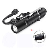 Astrolux S1 XPL 1600LM 7/4modes EDC LED Flashlight 18650/18350