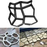 Original 60×50 cm Jardín DIY Plástico Path Maker Mold Piedra Camino Pavimentación Cemento Molde de Ladrillo