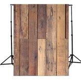 5x7Ft Wood Wall Floor Photography Background Vinyl Backdrop Photograph Studio Prop