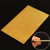 Hoja de latón de 3 mm x 60 mm x 100 mm Placa Hoja de experimentos de la industria DIY