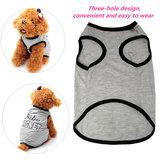 Pet Dog Cat Puppy Vest T-Shirt Accessory Spring Clothes Vest T-Shirt Coat Dress Costume Clothing