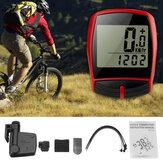 BIKIGHT Wireless LCD Cycling Bike Bicycle Cycle Computer Odometer Speedometer Waterproof Back Light