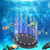 Acuario Decoraciones de luz LED Luces submarinas Crear Colorful Burbujas para tanque de peces