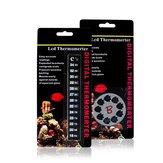 Nomoy Aquarium Temperature Stickers Digital Fish Tank Thermometer Temperature Sticker Stick-on