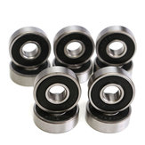 10st 8x22x7mm Deep Groove Miniatuur Bearing Seal Ring 608-2RS 608RS Deep Groove Ball Bearing