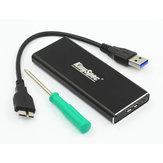 Boîtier de disque dur SSD Kingspec USB 3.0 à M.2 NGFF 2230/2242/2260/2280